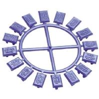 0-0558199-4 (10 Stück) - ACO Stecksymbol 0-0558199-4