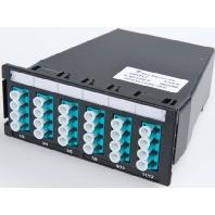 1-1671205-4 - MPO-6xLC-Duplex Kassette 9/125 OS1gekreuzt 1-1671205-4