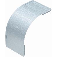 DBV 110 400 F FS - Deckel Vertikalbogen 90 Grad fal. B400mm DBV 110 400 F FS