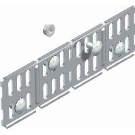 RWVL 60 VA4571 (10 Stück) - Längs- und Winkelverbinder horizontal 60x200 RWVL 60 VA4571