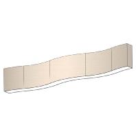 MAXI-SCHLANGE-LED250 - LED-Pendelleuchte 40W Schirm Dekor ws MAXI-SCHLANGE-LED250