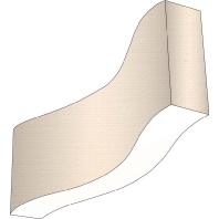 MAXI-SCHLANGE-LED125 - LED-Pendelleuchte 20W Schirm Dekor ws MAXI-SCHLANGE-LED125