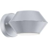 94139 - LED-Außenleuchte silber/weiß 94139