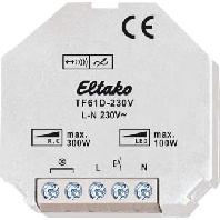 TF61D-230V - Tipp-Funk Dimmaktor bis 200W TF61D-230V