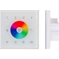 WIFI-WPRGB+W-ws - WIFI RGBW-Controller Panel für Wandeinbau WIFI-WPRGB+W-ws