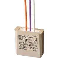 MTVT500E - Dimmer Zeitfunktion UP Taster 3-500W 230V MTVT500E