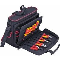 00 21 10 V01  - Notebook-/ Werkzeugtasche schwarz, 11-teilig 00 21 10 V01