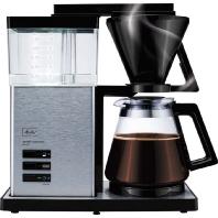 100702 sw/stahl - Kaffeeautomat AromaSignatureDeluxe 100702 sw/stahl