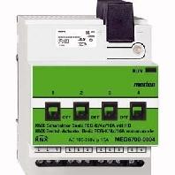 MEG6700-0004 - KNX Schaltaktor Basic REG-K/4x/16 A MEG6700-0004