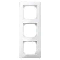 MEG4030-3519 - Rahmen 3-fach polarweiß glänzend MEG4030-3519