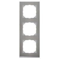 MEG4030-3646 - Decor-Rahmen 3-fach Edelstahl/aluminium MEG4030-3646