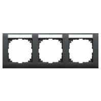 MEG4031-3614 - Rahmen 3-fach anthrazit MEG4031-3614