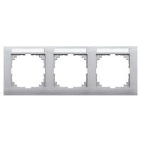 MEG4031-3660 - Rahmen 3-fach aluminium MEG4031-3660