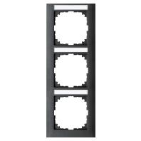 MEG4032-3614 - Rahmen 3-fach anthrazit MEG4032-3614