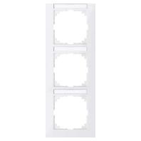 MEG4032-3619 - Rahmen 3-fach polarweiß MEG4032-3619