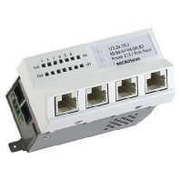 MS450186PM-48G6+  - Installations-Switch 6-Port Gigabit Ether MS450186PM-48G6+