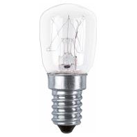 SPC.T26/57 CL15 - Special-Lampe 15W 230V E14 Birne SPC.T26/57 CL15