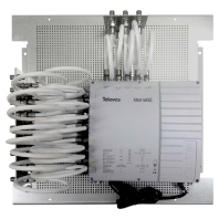 MP-MS516NG - Multischalter 5 in 16 m.Montageplatte MP-MS516NG