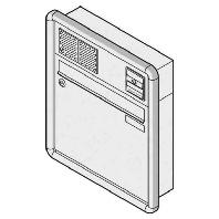 10-0-25017 ws - Briefkasten UP RAL9016 mit RS3000 10-0-25017 ws