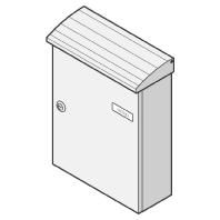 17-1-10114 ws - Briefkasten ws Aufhängekasten 17-1-10114 ws