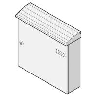 17-1-10214 gr - Briefkasten gr Aufhängekasten 17-1-10214 gr
