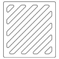 97-9-00092 ws - Sprechgitter Kunststoff 97-9-00092 ws