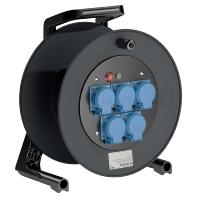 GT 310.MD5L - Spezialgummi-Kabeltrommel m. Steckd. oh. Kabel GT 310.MD5L
