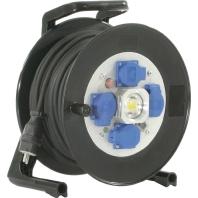 GT 310LEDMD4L25KS315 - Spezialgummi-Kabeltrommel mit LED und Kabel GT 310LEDMD4L25KS315
