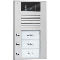 AVD14033-0010 - Video color Außenstation 3Tast 1reih.AP si AVD14033-0010