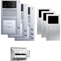PVC1330-0010 - Videosprechanlgenset color freisprechen AP PVC1330-0010