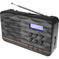 DAB500SB sw  - DAB+Pocketradio UKW DAB500SB sw