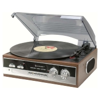 PL186H - Plattenspieler/Radio 70iger Jahr Design PL186H