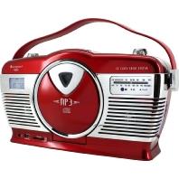 RCD1350RO rt - Kofferradio m.CD Retro RCD1350RO rt