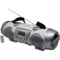 SCD8000 si/ws - Jumbo-CD-Boombox mit Bluetooth SCD8000 si/ws