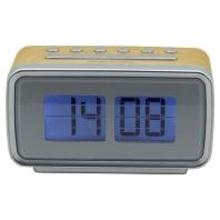 UR105H hbr  - Retro-PLL UKW Uhrenradio m.Festsenderspeicher UR105H hbr