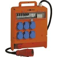 Z 55.16 - Steckdosenkoffer orange IP44 Z 55.16