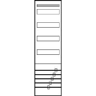 V16N80N - Standard-Verteilerfeld 1V4 5pol. V16N80N