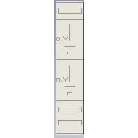 Z18PN - Standard-Zählerfeld mit Hutschienen 2Z Z18PN
