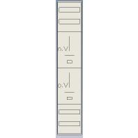 Z19PN - Standard-Zählerfeld mit Hutschienen 2Z Z19PN