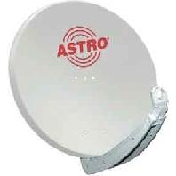 ASP 85G - SAT-Spiegel 85cm hellgrau ASP 85G