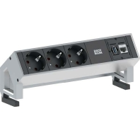 902.301 - Steckdoseneinheit 3xSchuko 1xCat6 +USB 902.301