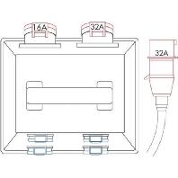 522148 - Tragbarer Verteiler Vollgu mmi IP44 522148