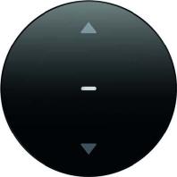 85245131 - KNX-Funk Jalousie-Taste schwarz glänzend 85245131