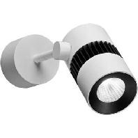 12009073 - LED-Aufbauleuchte ww 6W Alu ws/sw 12009073