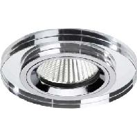 33154003 - LED Einbaustrahler 1x6,6W 350mA chr 33154003
