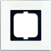 1721-811 - Rahmen 1fach, weißglas 1721-811