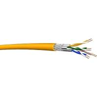 UC1200SS23 4PLSHF-FR (1000 Meter) - Datenkabel Kat.7A T1000 S/FTP AWG23 gelb UC1200SS23 4PLSHF-FR