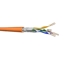 UC900 HS23 4P FRNC (1000 Meter) - Datenkabel, Kat.7, Tr.1000 S/FTP AWG23 orange UC900 HS23 4P FRNC