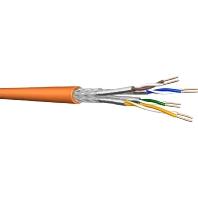 UC900 SS23 4P FRNC (500 Meter) - Datenkabel, Kat.7, Tr.500 S/FTP AWG23 orange UC900 SS23 4P FRNC