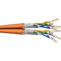 UC900 SS23 8P FRNC - Datenkabel, Kat.7, Tr.500 S/FTP AWG23 orange UC900 SS23 8P FRNC